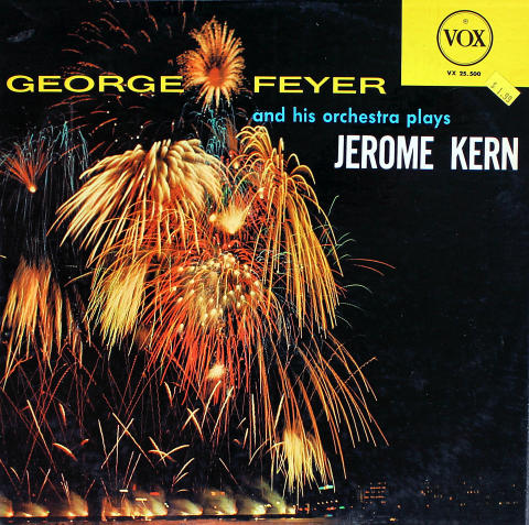 """George Feyer And His Orchestra Vinyl 12"""""""