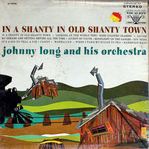 """Johnny Long And His Orchestra Vinyl 12"""""""