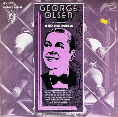 """George Olsen Vinyl 12"""""""