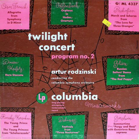 "Artur Rodzinski Conducting The Columbia Symphony Orchestra Vinyl 12"""