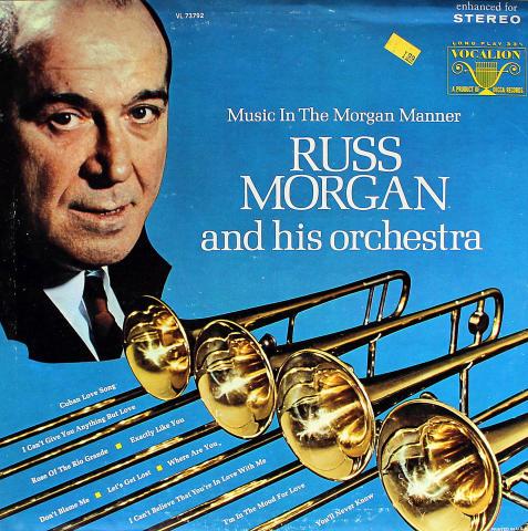 "Russ Morgan And His Orchestra Vinyl 12"""
