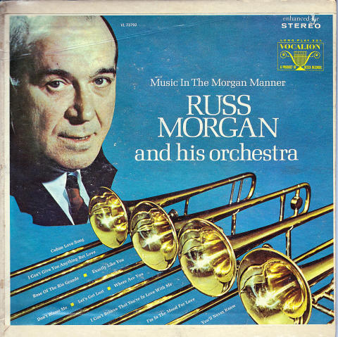 """Russ Morgan And His Orchestra Vinyl 7"""" (Used)"""