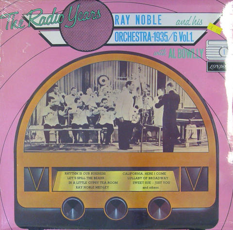 "Ray Noble And His Orchestra Vinyl 12"" (New)"