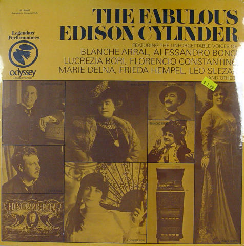 The Fabulous Edison Cylinder Vinyl 12""