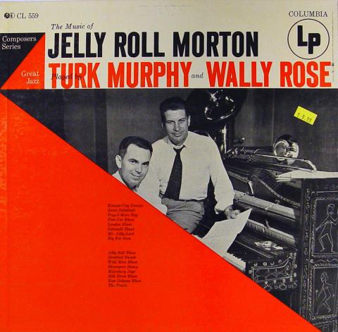 "Turk Murphy And Wally Rose Vinyl 12"""