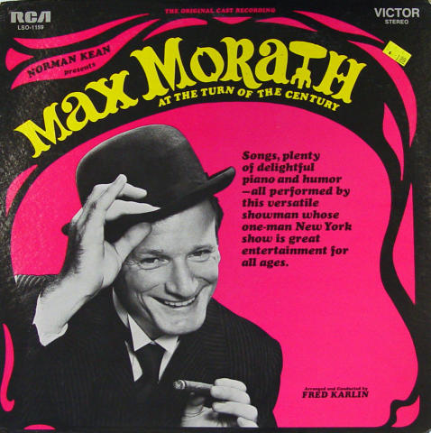 "Max Morath Vinyl 12"""