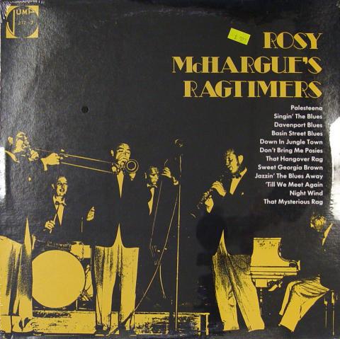 "Rosy McHargue's Ragtimers Vinyl 12"""
