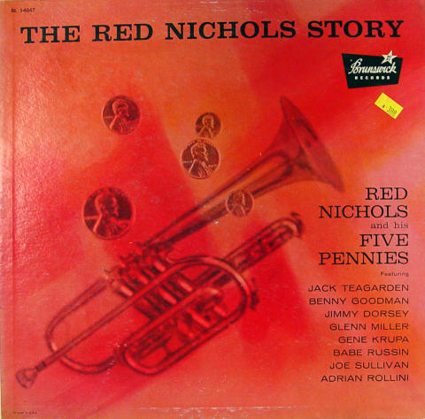 """Red Nichols and His Five Pennies Vinyl 12"""""""