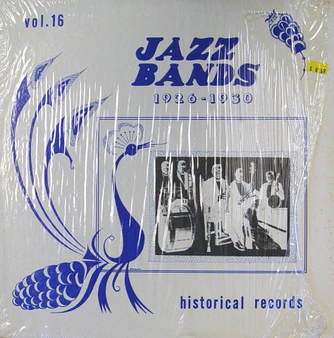 "Jazz Bands 1926-1930: Vol. 16 Vinyl 12"""