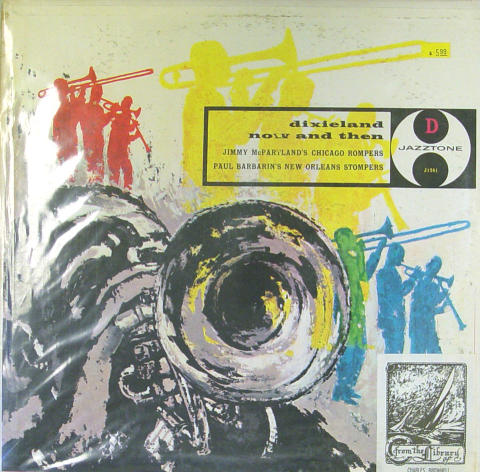 "Jimmy McPartland / Paul Barbarin Vinyl 12"" (Used)"