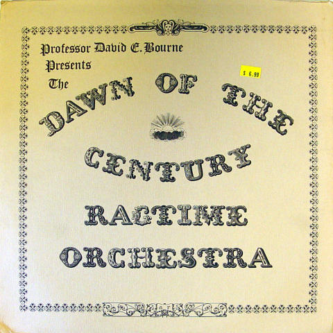 """Dawn Of the Century Ragtime Orchestra Vinyl 12"""""""