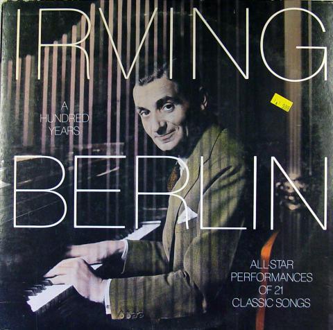 "Irving Berlin: A Hundred Years Vinyl 12"""