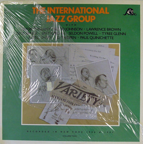"The International Jazz Group Vinyl 12"""