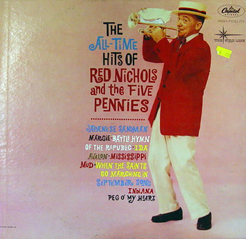 Red Nichols And The Five Pennies Vinyl 12""