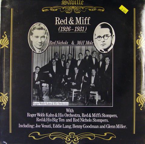 "Red Nichols / Miff Mole Vinyl 12"""