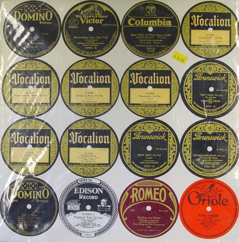 "Early Red Nichols 1925-1927 Vinyl 12"""