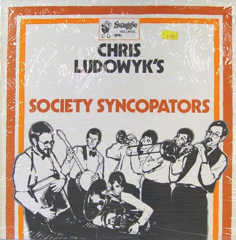 """Chris Ludowyk's Society Syncopators Vinyl 12"""""""