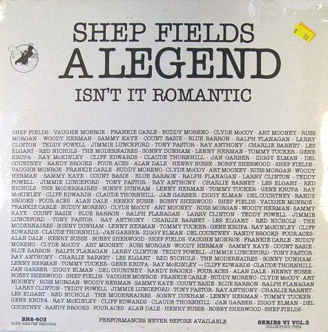 "Shep Fields Vinyl 12"""