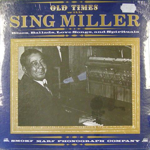 "James ""Sing"" Miller Vinyl 12"""