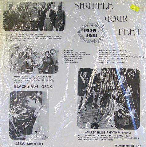 "Shuffle Your Feet 1928-1932 Vinyl 12"""