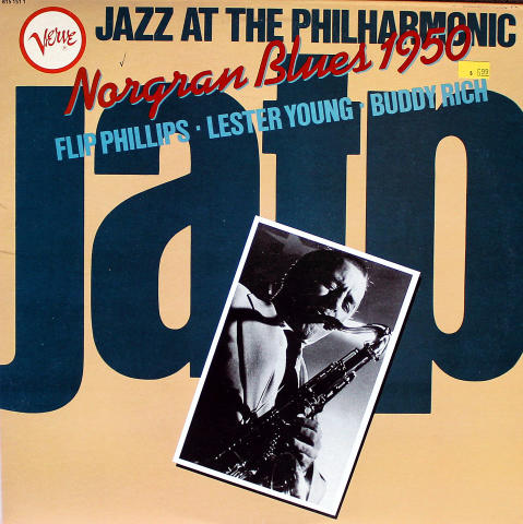 "Flip Phillips / Lester Young / Buddy Rich Vinyl 12"""