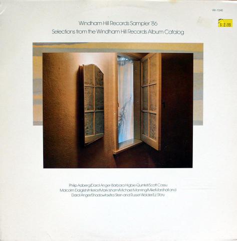 "Windham Hill Records Sampler '87 Vinyl 12"""