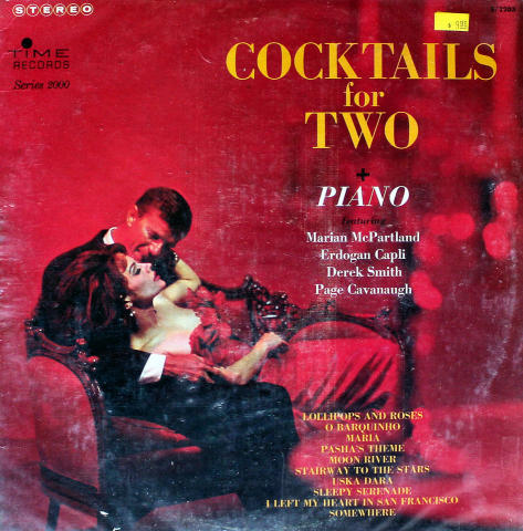 """Cocktails For Two + Piano Vinyl 12"""" (Used)"""
