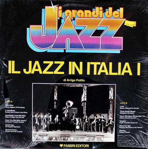 """IL Jazz In Italia I /Jazz In Italy Vol. 1 Vinyl 12"""""""