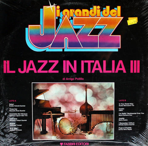 "IL Jazz In Italia III / Jazz In Italy Vol. 3 Vinyl 12"""