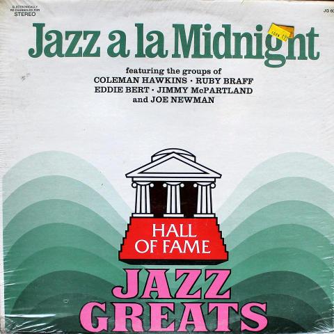 "Jazz A La Midnight Vinyl 12"""