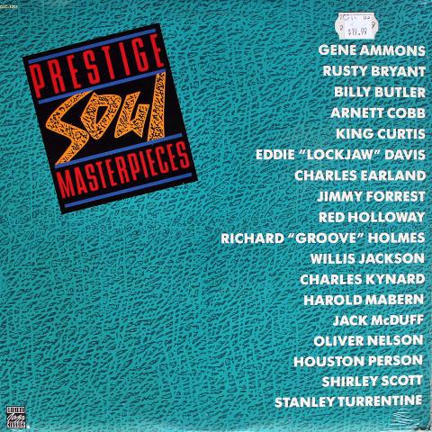 "Prestige Soul Masterpieces Vinyl 12"""