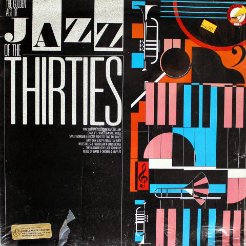 """The Golden Age Of Jazz Of The Thirties Vinyl 12"""""""