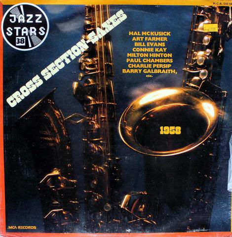 """Cross Section Saxes: 1958 Vinyl 12"""""""