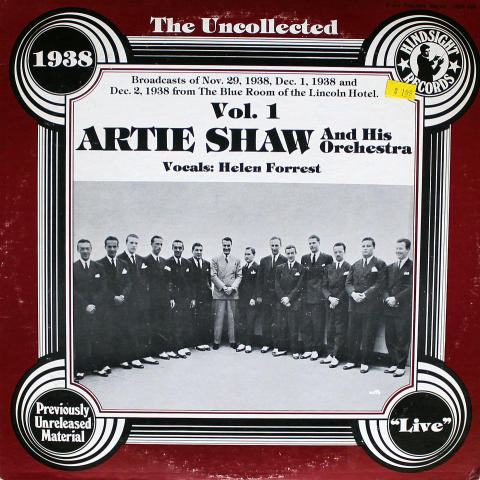 The Uncollected: 1938, Vol. 2 Vinyl 12""
