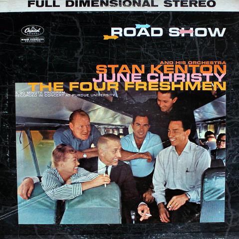 "Stan Kenton / June Christy / The Four Freshmen Vinyl 12"""