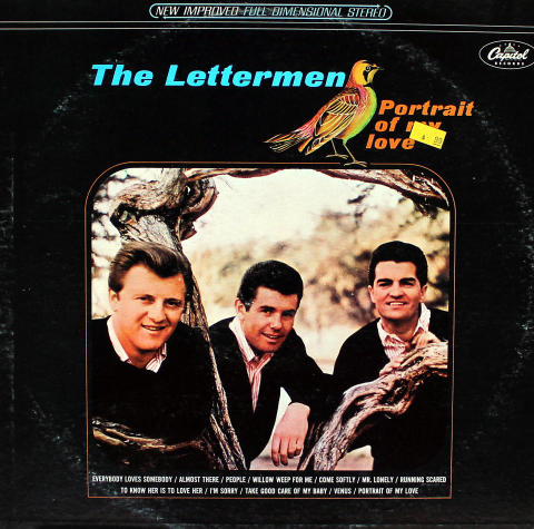 """The Lettermen Vinyl 12"""""""