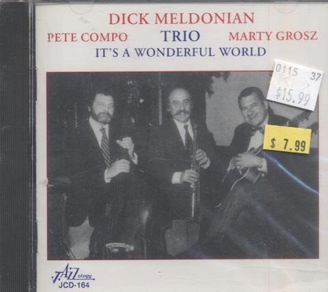 Dick Meldonian Trio CD