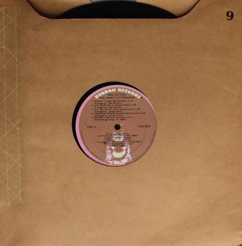 "The James Cotton Band Vinyl 12"""