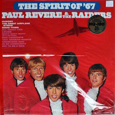 Paul Revere and the Raiders Vinyl 12""