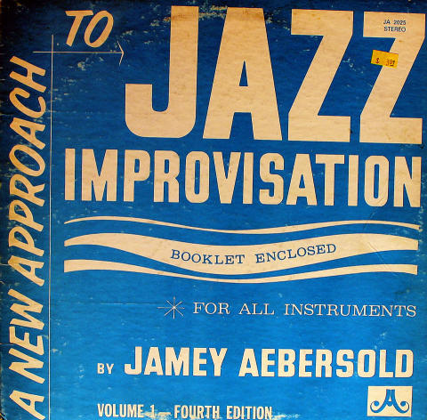 A New Approach to Jazz Improvisation Vinyl 12""