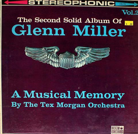 """The Tex Morgan Orchestra Vinyl 12"""""""