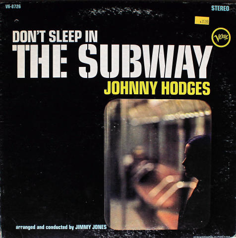 "Johnny Hodges Vinyl 12"" (Used)"