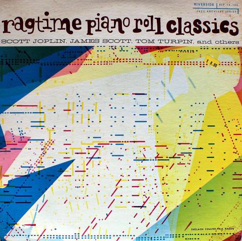 "Ragtime Piano Roll Classics Vinyl 12"""