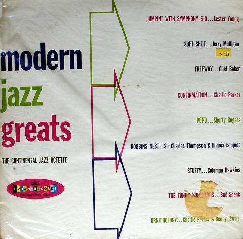 "Modern Jazz Greats Vinyl 12"""