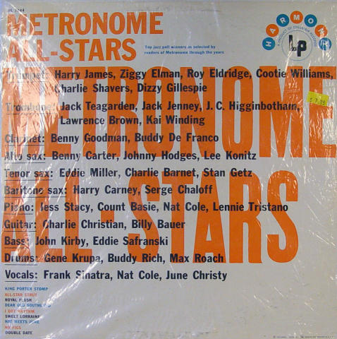 Metronome All-Stars Vinyl 12""