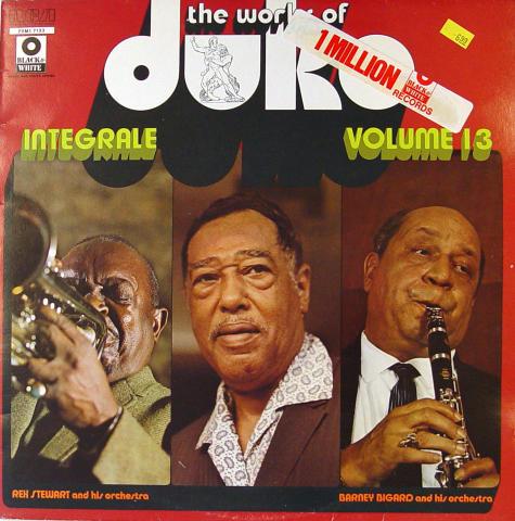 "Duke Ellington and His Orchestra Vinyl 12"""