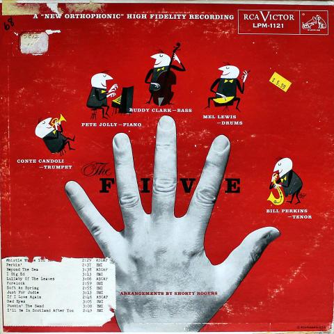 "The Five Vinyl 12"""