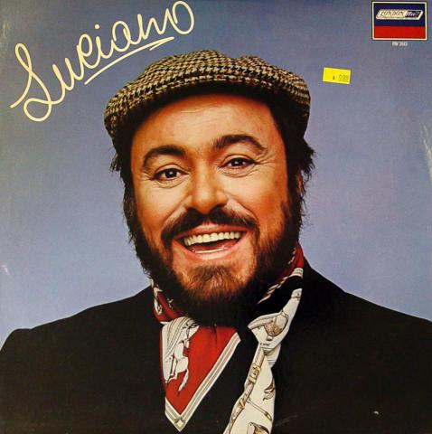 "Luciano Pavarotti Vinyl 12"""