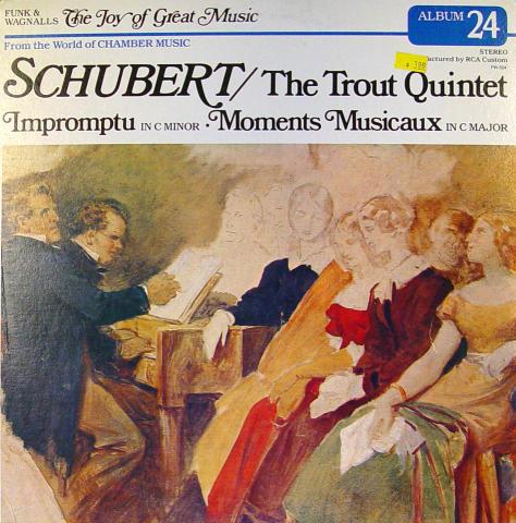 """Franz Schubert Vinyl 12"""""""