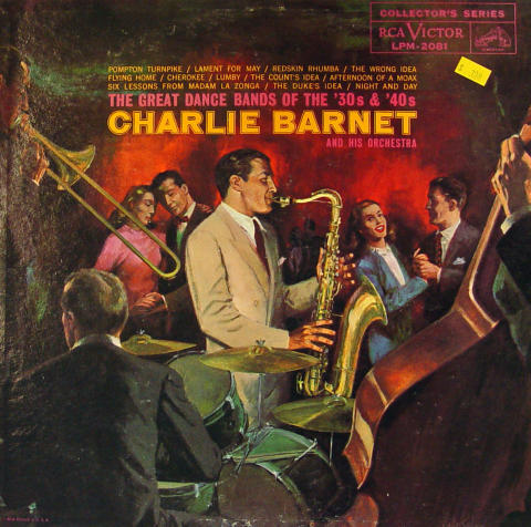 """Charlie Barnet And His Orchestra Vinyl 12"""" (Used)"""